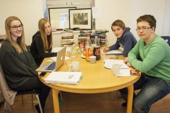 Nominasjonsjuryen 2014 samlet i Oslo