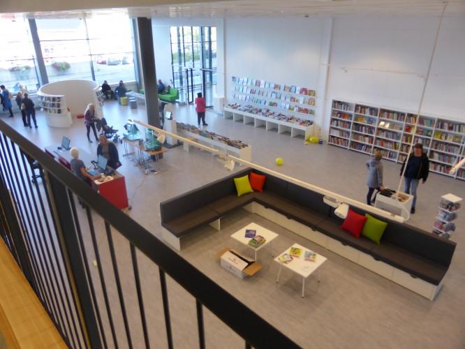 Fra Lenvik bibliotek