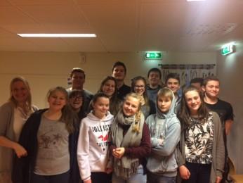 9. klasse på Søvik Oppvekstsenter var anmelderklasse høsten 2015